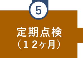 定期点検(12ケ月)