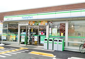 ファミリーマート 嵯峨野宮ノ元町店 徒歩3分