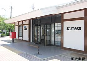 JR嵯峨野線太秦駅