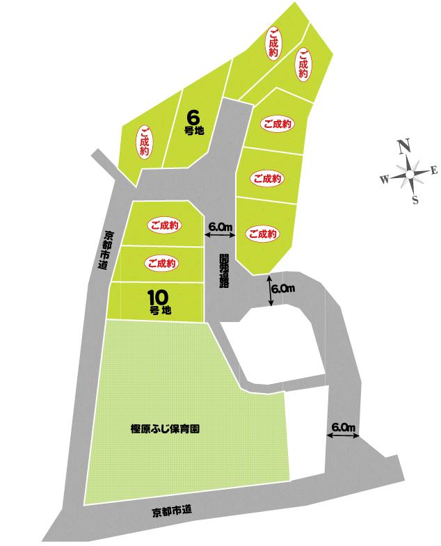 セントフローレンスタウン阪急桂駅西口 区画図