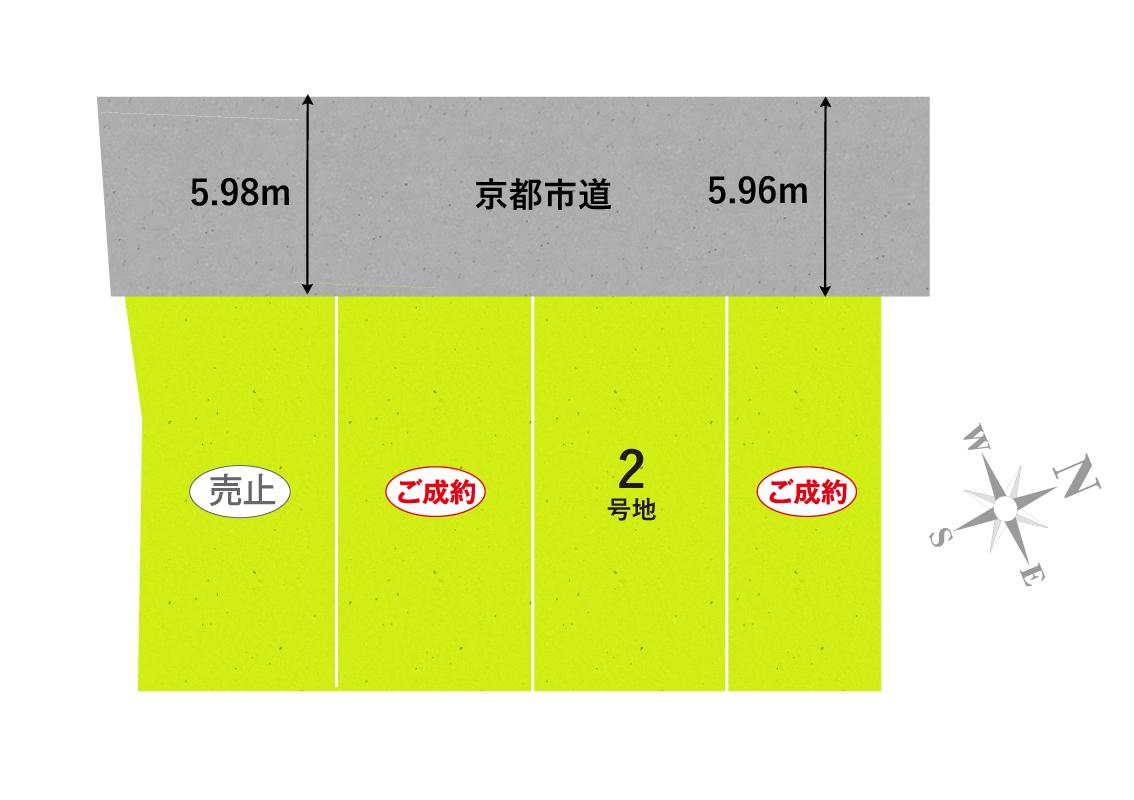 セントフローレンスタウン阪急松尾大社Ⅱ 区画図