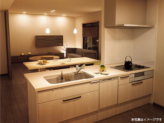【パナソニック】システムキッチン「ラクシーナ」 食器洗い乾燥機付
