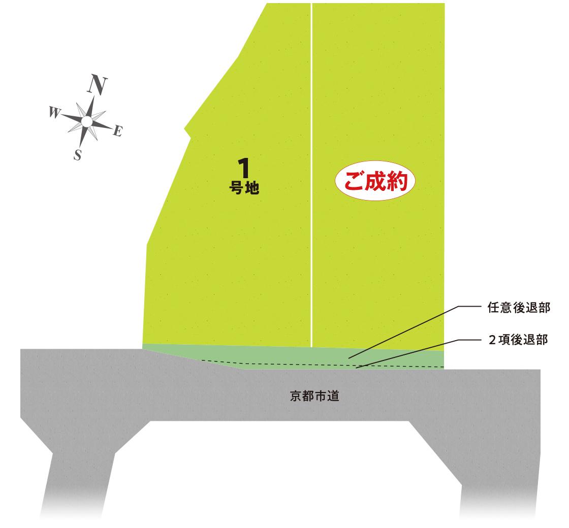 セントフローレンスタウン松尾南 区画図