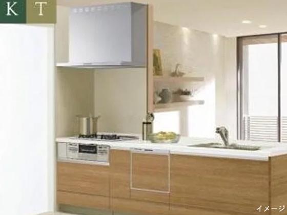 【クリナップ】システムキッチン「KT」 食器洗乾燥機付き