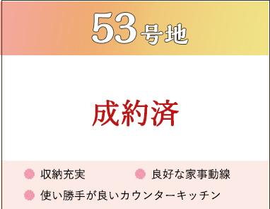 53号地間取り情報