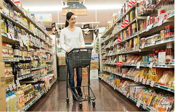 スーパー&薬局など、買い物施設充実。